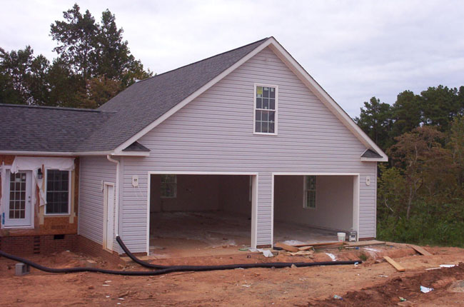 Collins construction of north carolina llc garages for 36 x 36 garage with apartment